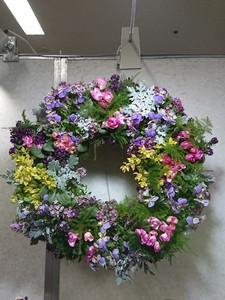 Sun Apr 11 Living Wreath